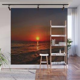 Sonnenuntergang am Meer Wall Mural