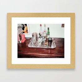 An Old Fashioned, Please? Framed Art Print