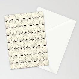 """Art Deco . No. 18 """"Shells."""" Stationery Cards"""