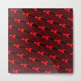 Valknut Pattern Metal Print