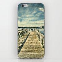 boardwalk empire iPhone & iPod Skins featuring Boardwalk by Steve Purnell