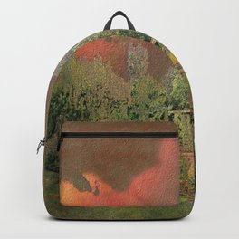 English Garden Sunset Backpack
