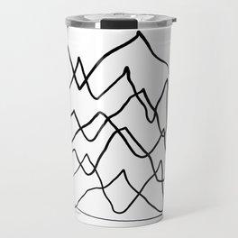 Mountain Lines Travel Mug
