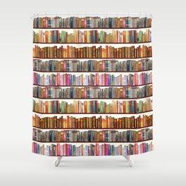 Jane Austen Vintage Book collection Shower Curtain
