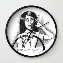 Separation ANXIEty Wall Clock