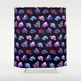 Jewel turtle Shower Curtain