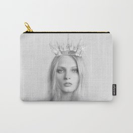 Elsa Snow Queen (Pencil Art) Carry-All Pouch