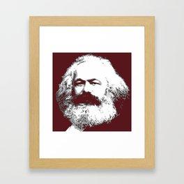 Karl Marx Framed Art Print