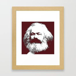 Karl Marx Framed Art Print