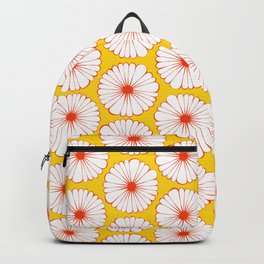 Daisies Galore Pattern Backpack