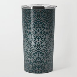 Jasmine Celtic Knotwork Travel Mug