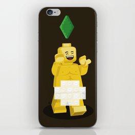 I want to brick free ! iPhone Skin