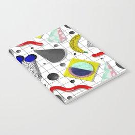 Memphis Milano X Harlem Shake Style Notebook