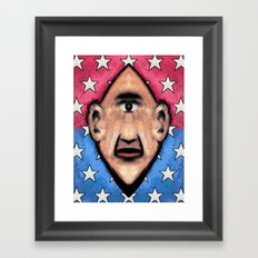 LOBBYIST Framed Art Print