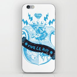 Vive le Roi iPhone Skin