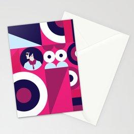 Modernist Female Stationery Cards