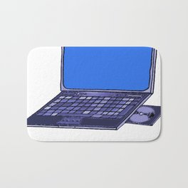 Laptop  Bath Mat