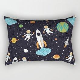 A Walk in Space Rectangular Pillow