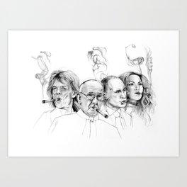 Kuba Art Print