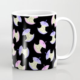 Neon apples black Coffee Mug