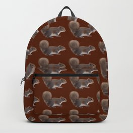 Cute Painted Squirrel Pattern Backpack