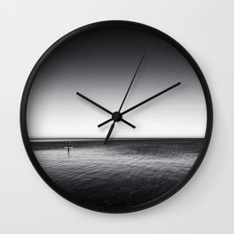 The Paddleboarder Wall Clock