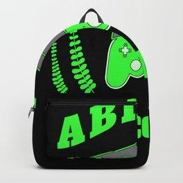 Abitur Abi graduation gamer examination beautiful Backpack