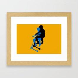 Landing Gears - Stunt Scooter Rider Framed Art Print