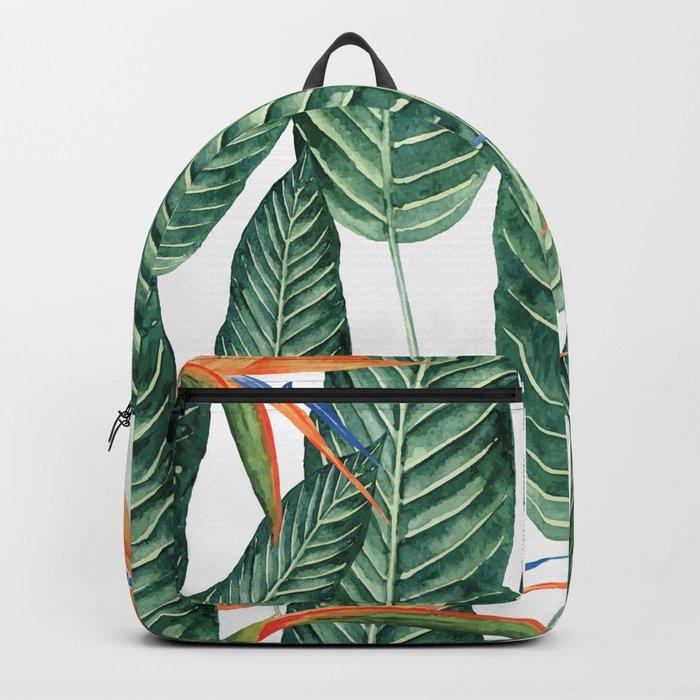 Banana And Flowers #society6 Backpack