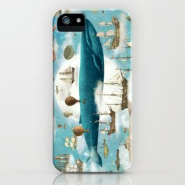 Ocean Meets Sky - option iPhone Case