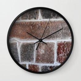 Stone wall colour 6 Wall Clock