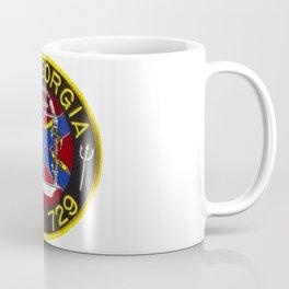USS GEORGIA (SSBN-729) PATCH Coffee Mug
