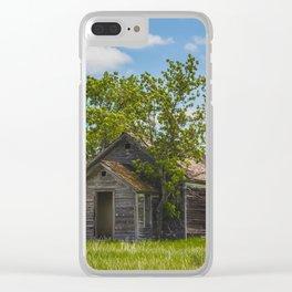 Cromwell Township School, North Dakota 7 Clear iPhone Case