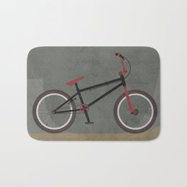 BMX Bike Bath Mat