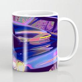 Classic Hot Rod in Magic Blue: Full Throttle! Coffee Mug