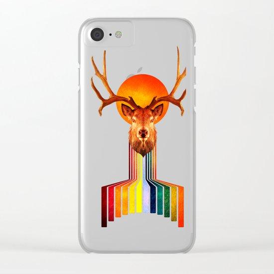 Deer creator Clear iPhone Case