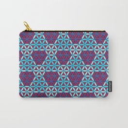 Triangles- optical illusion Carry-All Pouch