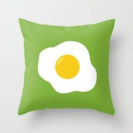 Easter Eggs (green) Throw Pillow