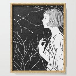 Under Stars (Aurora Aksnes) Serving Tray