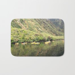 Kayaking on the Doubtful Sound Bath Mat