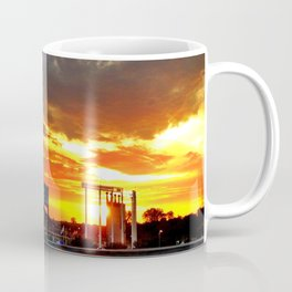 Kauffman Stadium at Sunset Coffee Mug