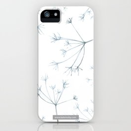 Hedgerow Seeds iPhone Case