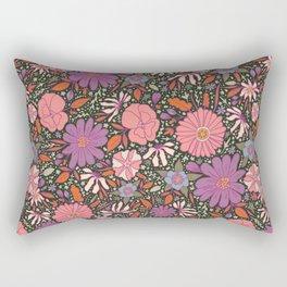 Saint Anthony Park Gardens (nightshade) Rectangular Pillow