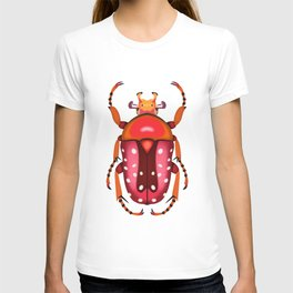 Orange and Red Beetle T-shirt