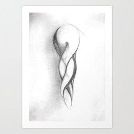 Voluptuous Curves Art Print