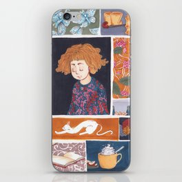 Childhood Collage iPhone Skin