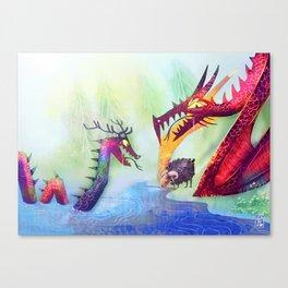 Hunter and prey Canvas Print