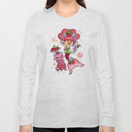 Strawberry Daiquiri In The Sea Long Sleeve T-shirt