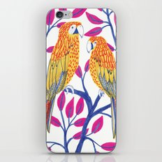 Yellow Parrots iPhone & iPod Skin