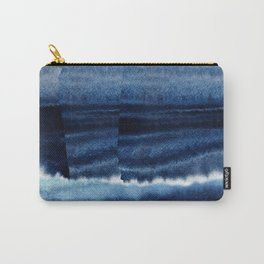 Blue Escape Watercolor Carry-All Pouch